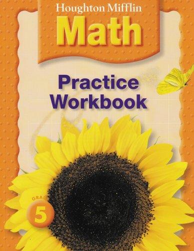 Houghton Mifflin Math: Practice Book Grade 5
