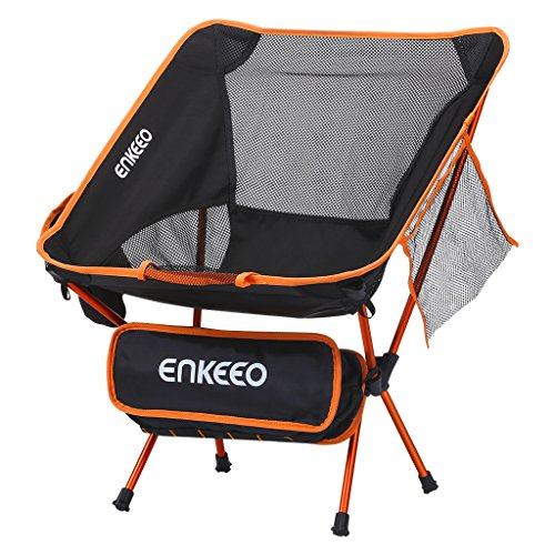 Chair Seat Picnic Bagfor Folding Camping FishingHikingPicnic and Travel Portable Carry Mesh 330 ENKEEO lbsCapacityBackrestPocket and with 0OnwPk