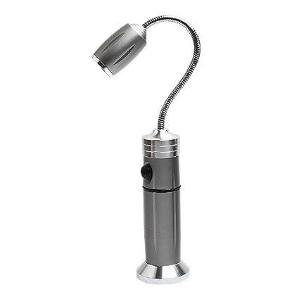 Pawaca Luz de barbacoa, 360 grados, base magnética ajustable para barbacoa, luz nocturna