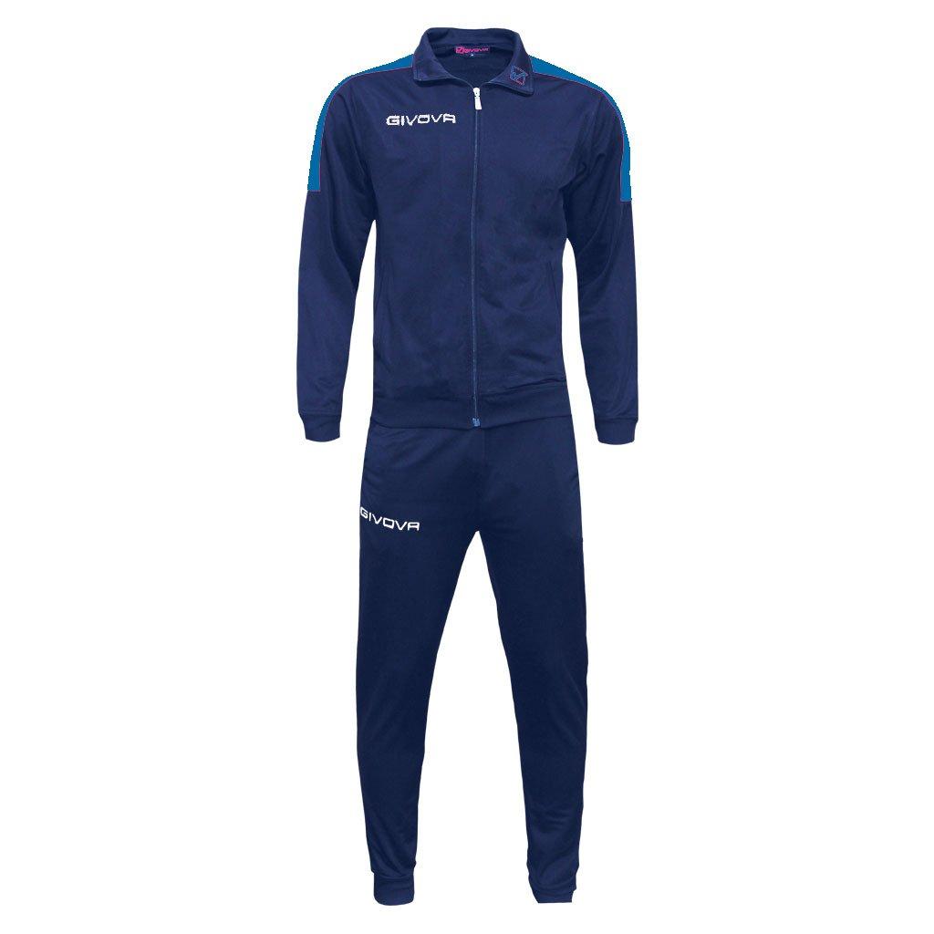 Modello Tuta Revolution Completo di Giacca con Zip Manica Lunga e Pantalone//Home Shop Italia Marchio Givova