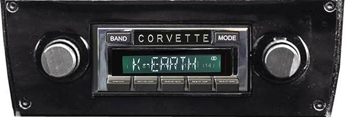 High Power 300 watt AM FM Car Stereo//Radio # CAM-CVMV-77//2-USA-630 II Custom Autosound USA-630 II compatible with 1977-1982 Chevrolet Corvette