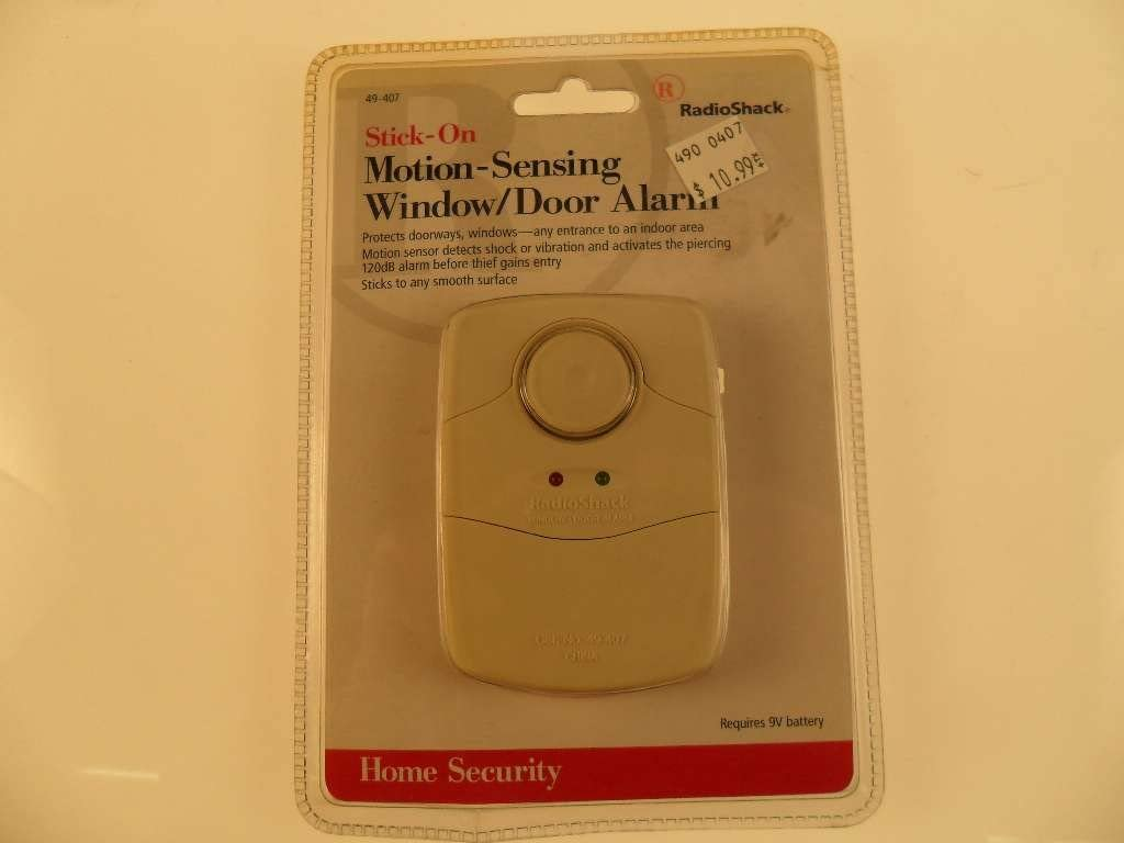 Home security Stick-on Window/door alarm