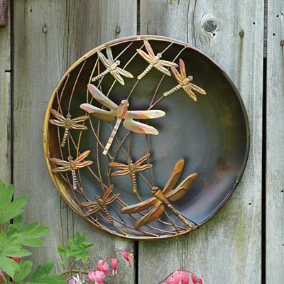 Ancient Graffiti Flame Finished Dragonfly Disc