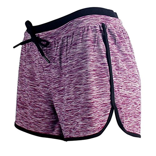 fa3674e3ecc742 Mikey Store Clearance Women Workout Fitness Running Shorts Elastic Sport  Shorts