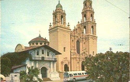 COLLECTIBLE POSTCARD: MISSION SAN FRANCISCO DE ASIS A.K.A. MISSION DOLORES /SAN FRANCISCO /CALIFORNIA