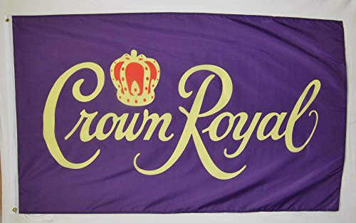 Crown Royal Beverage Flag 3' X 5' Deluxe Indoor Outdoor Banner