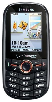 Samsung Intensity SCH-U450 Phone, Black (Verizon Wireless)