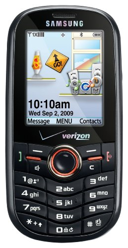 Samsung Intensity SCH-U450 Phone, Black (Verizon Wireless)