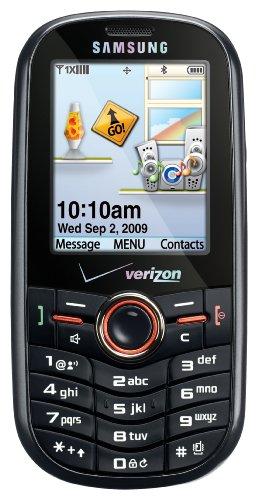 Samsung Intensity SCH-U450 Phone, Black