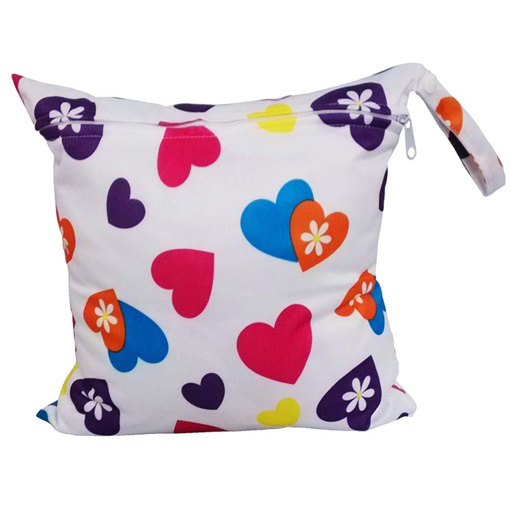 LAMEIDA Bolsa de pa/ñales a prueba de agua Nappy Tote Bag Baby Changing Eco Bag con una sola cremallera