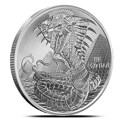 World of Dragons Series The Egyptian Dragon 1 oz Silver: Industrial & Scientific