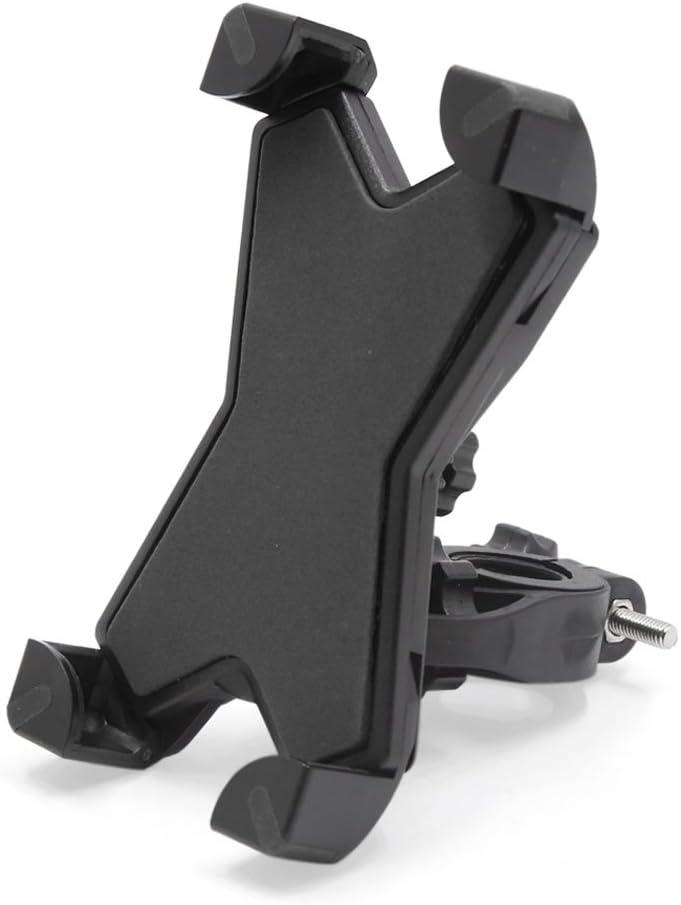 Sourcingmap Einstellbar Motorrad Roller Lenker Fahrrad Handyhalterung 360 Drehbare Handyhalter Halter Stand Für Smartphone De Auto