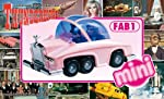 Aoshima Models Mini FAB 1, Lady Penelope's Pink Rolls Royce International Rescue Thunderbirds Model Building Kit by Dragon Models USA, Inc.