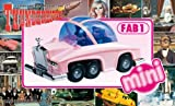Aoshima Models Mini FAB 1, Lady Penelope's Pink Rolls Royce International Rescue Thunderbirds Model Building Kit