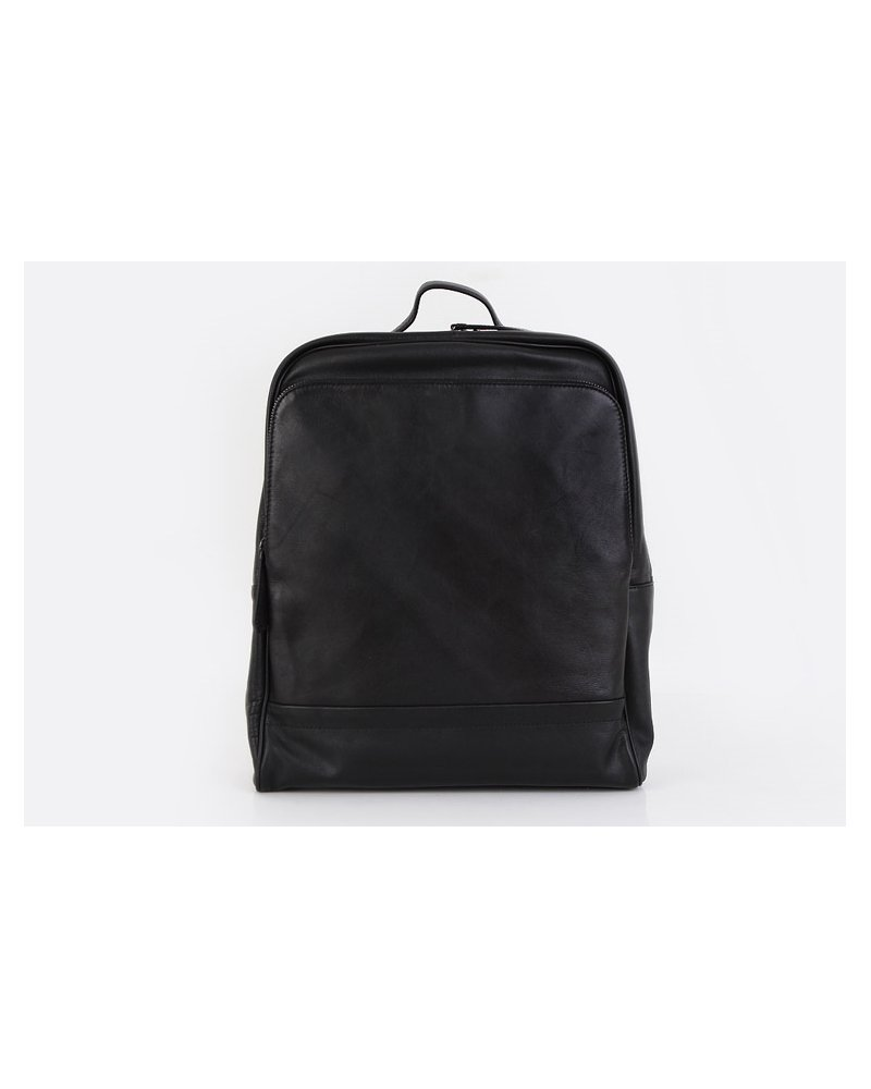 Fromb Byone Cowhide Backpack BLACK