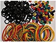 ITATOO® Tattoo Grommets, O Ring's and Rubber Bands 300 Pcs