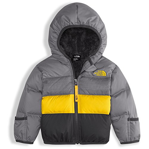 The North Face Baby Boys' Moondoggy 2.0 Down Jacket - mid grey, 18 - 24 months