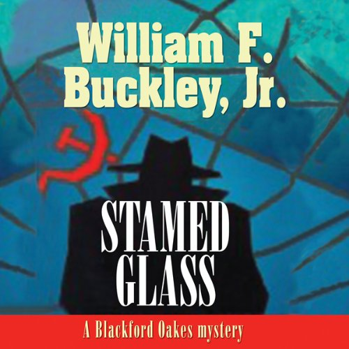 Bargain Audio Book - Stained Glass  A Blackford Oakes Mystery