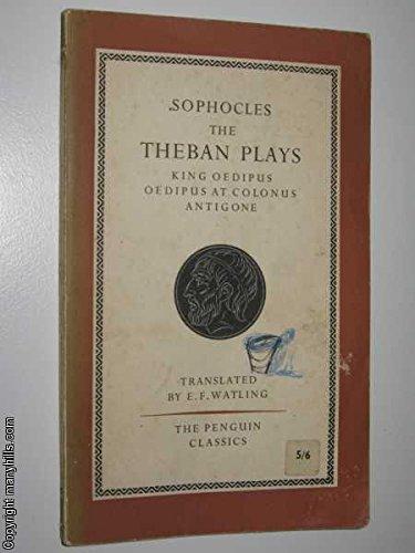 Download The Theban Plays King Oedipus Antigone Oedipus At