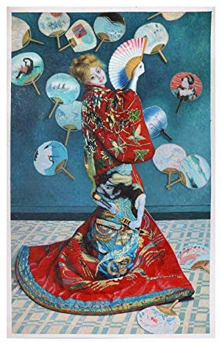 Seven Samurai Popart Oil Painting 40x16 inches in size. | eBay
