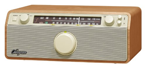 Sangean WR-12 AM/FM Analog Wooden Cabinet Receiver (Walnut)