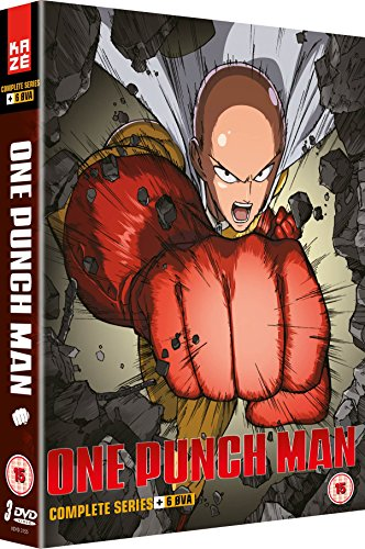 Amazon Com One Punch Man Collection 1 Episodes 1 12 6 Ova Dvd Movies Tv