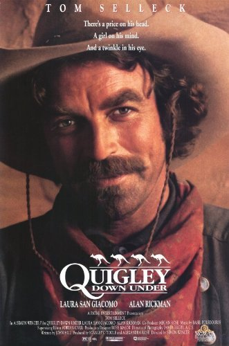 Quigley Down Under Flier Movie (11 x 17 Inches - 28cm x 44cm) (1990)