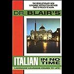 Dr. Blair's Italian in No Time | Robert Blair