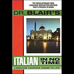 Dr. Blair's Italian in No Time Audiobook