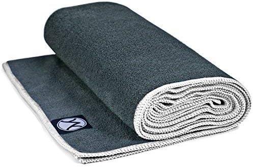 Youphoria Hot Yoga Towel - Non-Slip Yoga Mat Towel - Perfect Microfiber Towel for Yoga and Pilates - 24 x 72