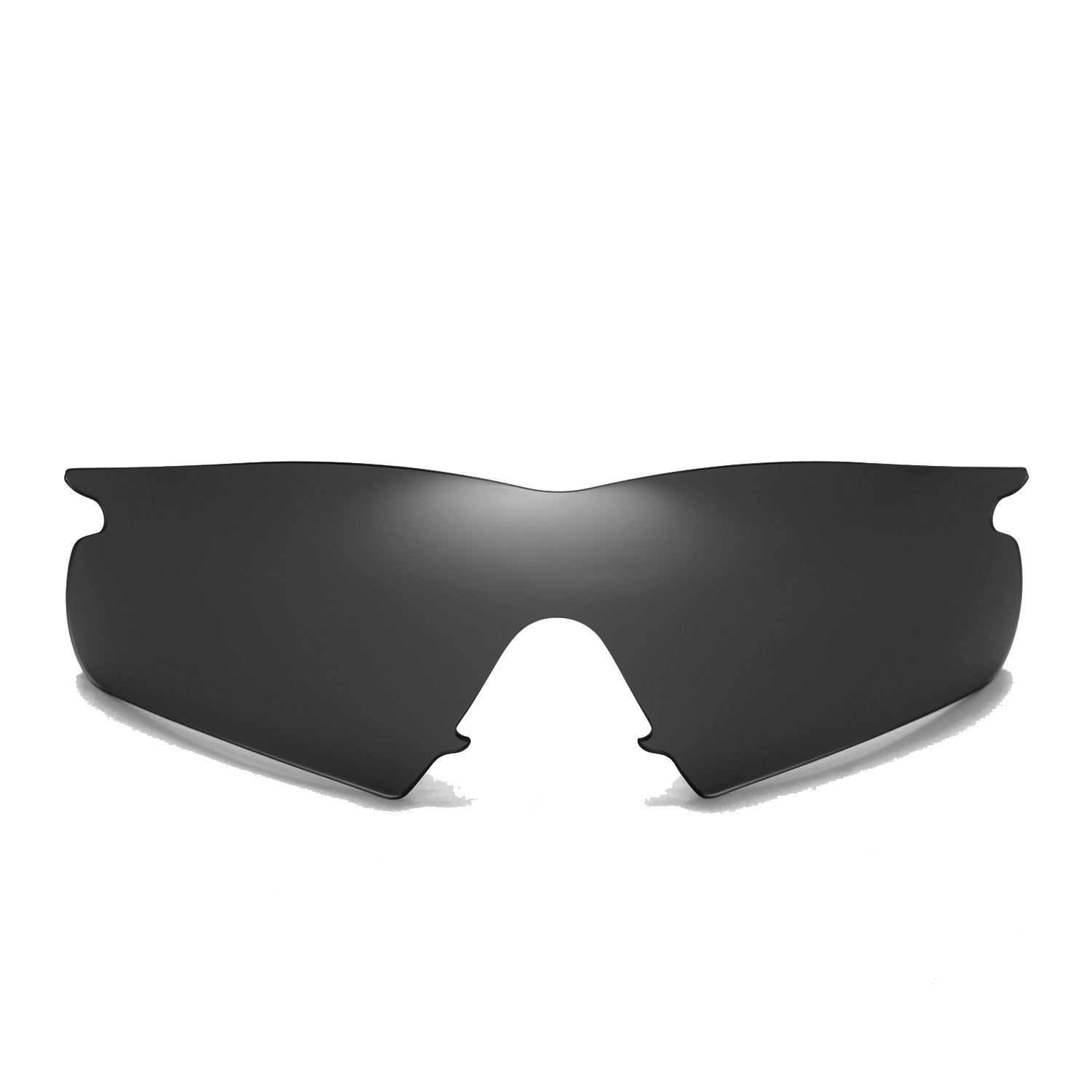 47508a0f8c Amazon.com  Cofery Replacement Lenses for Oakley M Frame Hybrid Sunglasses  - Multiple Options Available (Black - Non-Polarized)  Clothing
