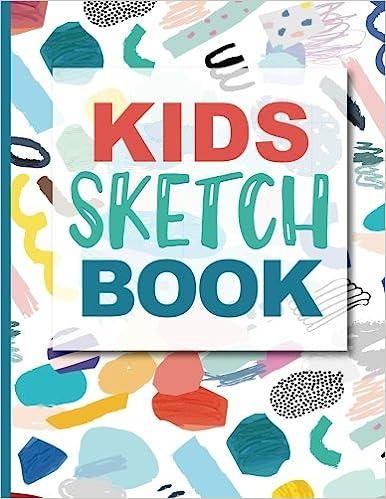 sketch book toddler blank doodle draw sketch books