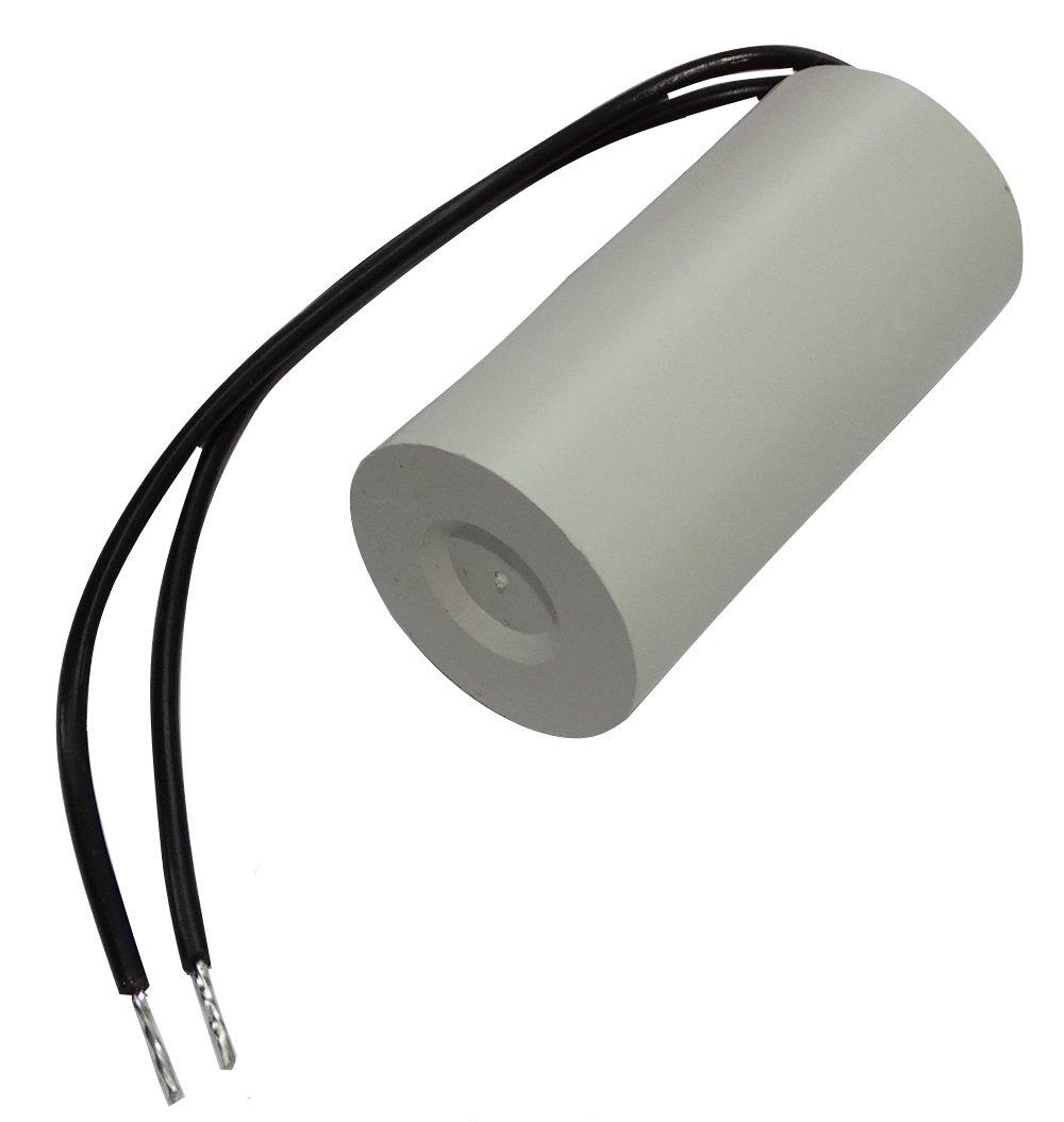 Condensatore di avviamento permanente di lavoro per motore 3/µF 450V con cavo 10cm /Ø25x51mm /±10/% 10000h Aerzetix