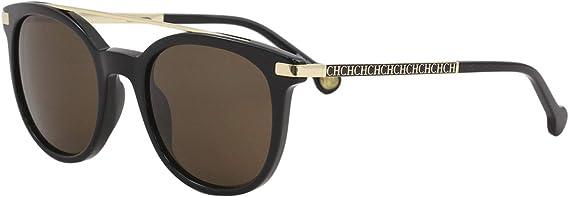 Carolina Herrera Gafas de Sol Mujer SHE690500700 (Diametro 50 mm), Black, 50 Unisex-Adult: Amazon.es: Ropa y accesorios