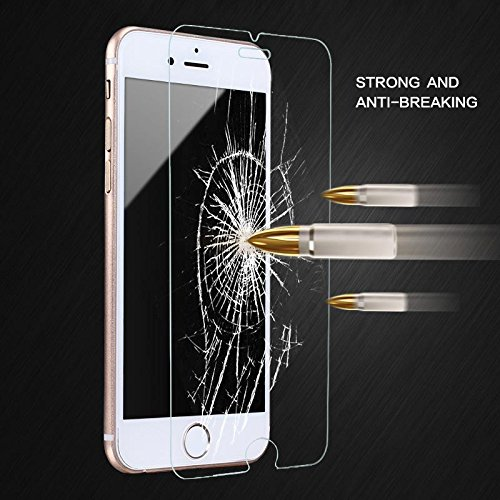 Tempered Glass Film For iPhone 7 Screen Protector Cases Protective Film Glass Clear artisome