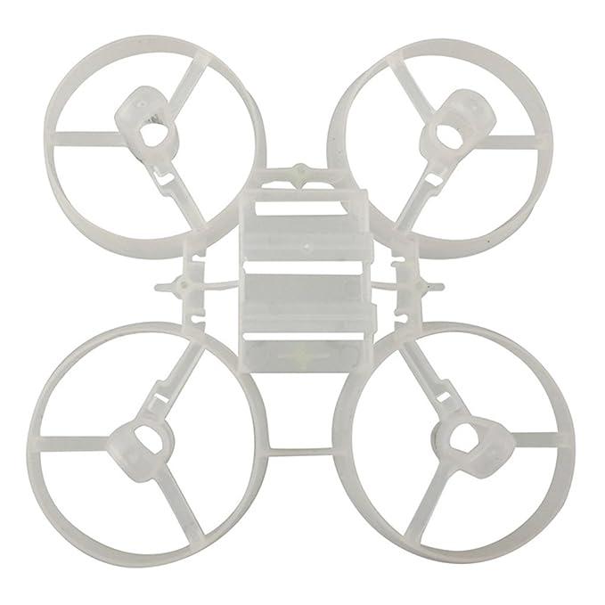Sharplace Carrocería Principal de Cuerpo RC Quadcopter Estructura Piezas de Repuesto para JJRC H36 Eachine E010 E010C E010S - Blanco: Amazon.es: Juguetes y ...