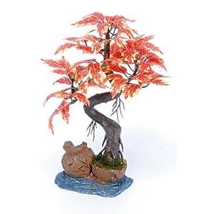 Pennplax Red Bonsai Tree Aquarium Decor, 8-Inch - RR969 38