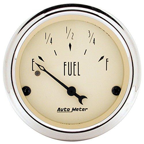 Auto Meter 1817 Antique Beige Fuel Level Gauge
