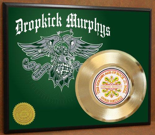 Dropkick Murphys LTD Edition Poster Art Gold Record Music Memorabilia Display