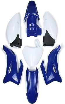 Abs Kunststoff Motorrad Kotflügel Verkleidung Karosserie Arbeitsset Set Für Yamaha Ttr110 Dirt Pit Bike Auto