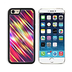 Line Obliquely Multi Colored Bands Apple iPhone 6 TPU Snap Cover Premium Aluminium Design Back Plate Case Customized Made to Order Support Ready Liil iPhone_6 Professional Case Touch Accessories Graphic Covers Designed Model Sleeve HD Template Wallpaper P