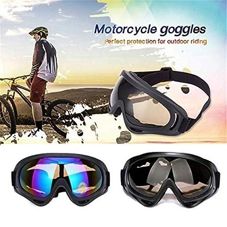ATV YALIMAMA Occhiali Antivento per Moto Ciclismo Fuoristrada Protezione UV400 per Moto da Cross