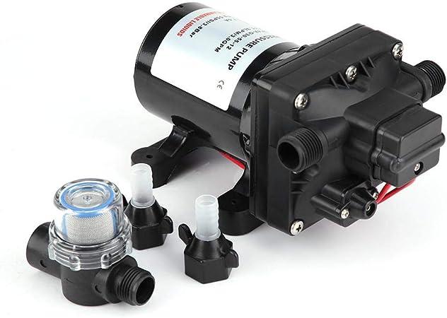Selbstansaugend Wasserpumpe Wasserpumpe Automatische Hochdruck Membran Dc 12v 55 Psi 3 Gallonen Pro Minute Für Wohnwagen Auto