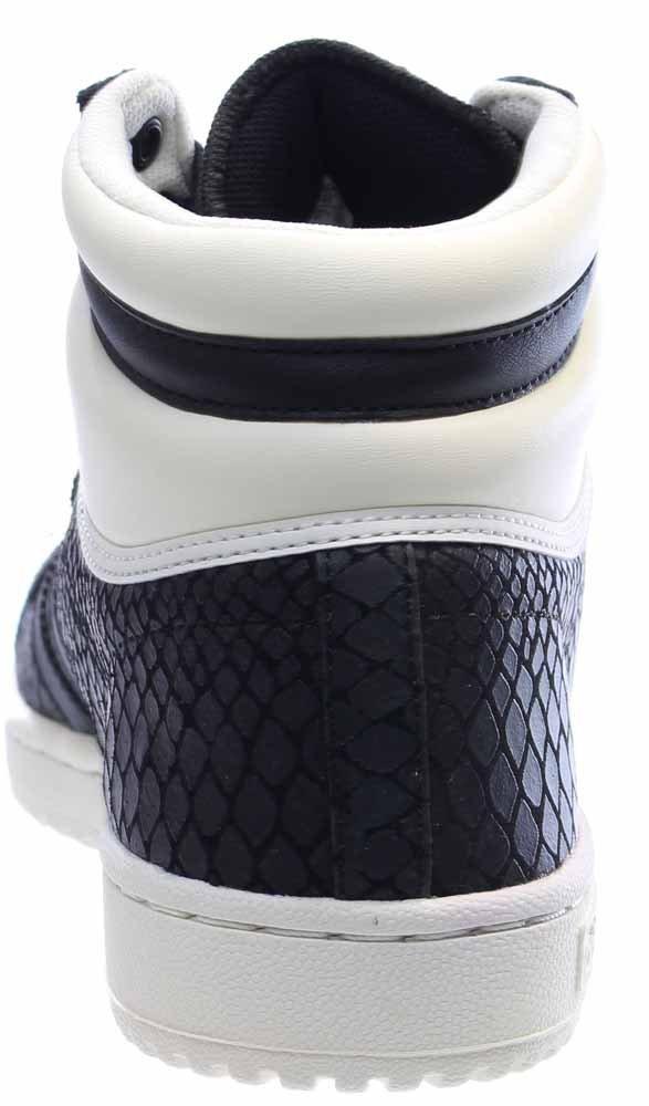adidas Women's Top Ten Hi Black/White S75135 (Size: 8) by adidas (Image #3)