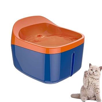 Amazon.com: Fuente para mascotas, 2 l, cuenco de agua ...