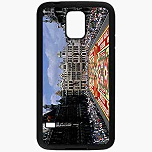 Unique Design Fashion Protective Back Cover For Samsung Galaxy S5 Case Belgium Brussels Area Black