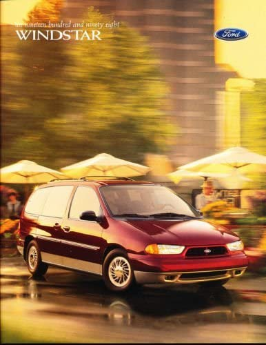 Amazon Com 1998 Ford Windstar Van 20 Page Original Car Sales Brochure Everything Else