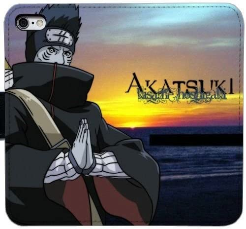 Generic Kisame Hoshigaki Naruto Leather Wallet Case Flip Cover With Credit Card Holder For Iphone 5 5s Seht 1385096 Amazon Co Uk Electronics