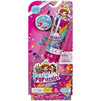 Party Popteenies Double Surprise Popper, with Confetti, Collectible Mini Doll and Accessories, for Ages 4 and Up (Styles May Vary)