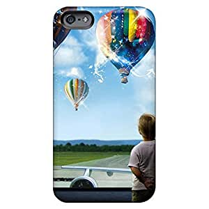 iphone 6 Tpye phone back shell Scratch-proof Protection Cases Covers Popular magic balloon